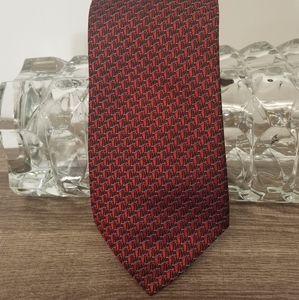 Brighton Tie Men's Red Grey